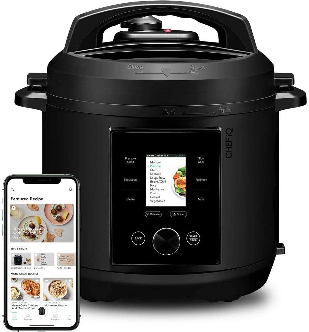 CHEF iQ Multi-Functional Wi-Fi enabled Smart Cooker.