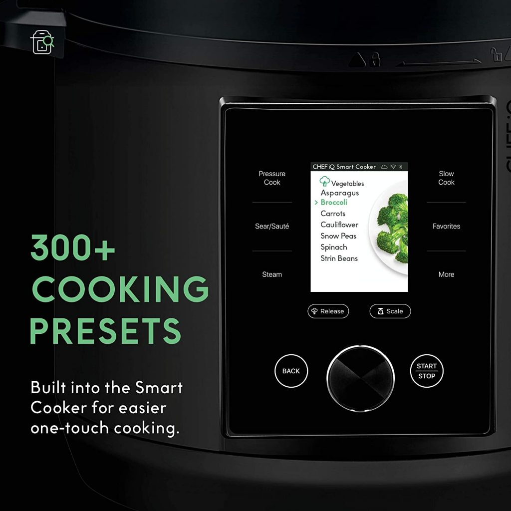 CHEF iQ Multi-Functional Wi-Fi enabled Smart Cooker - FREE SHIPPING with AMAZON PRIME